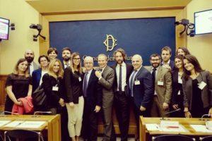 La rappresentanza GIMEMA alla Camera dei Deputati