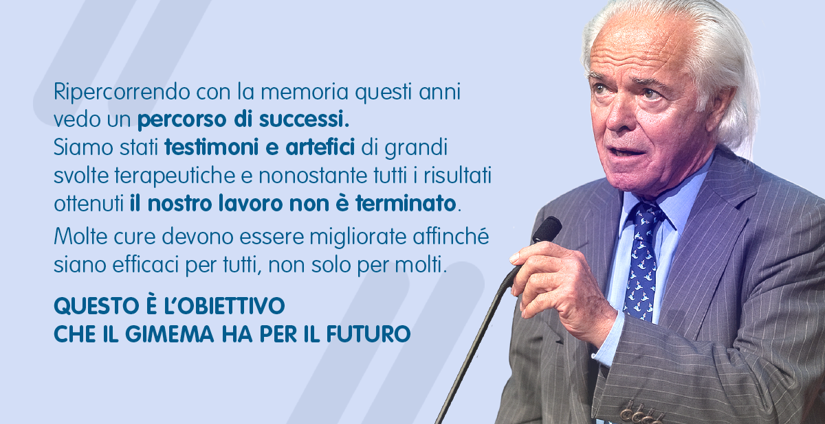 L'OBIETTIVO DEL GIMEMA – Prof. Franco Mandelli