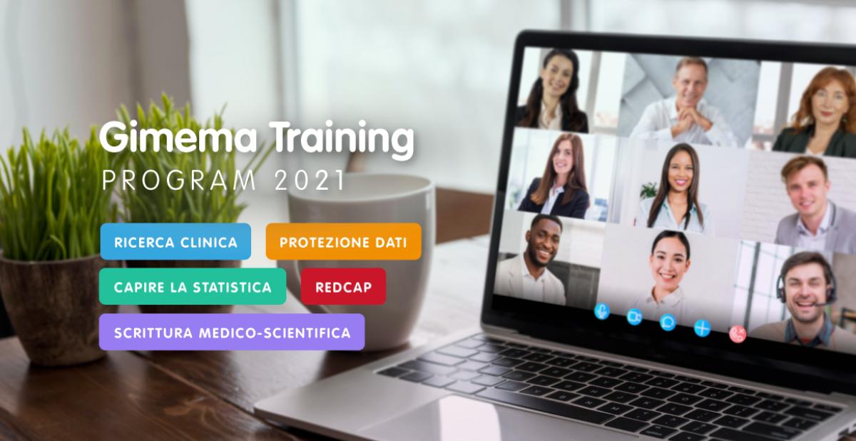 GIMEMA Training 2021: il programma di webinar per la formazione sulla ricerca clinica
